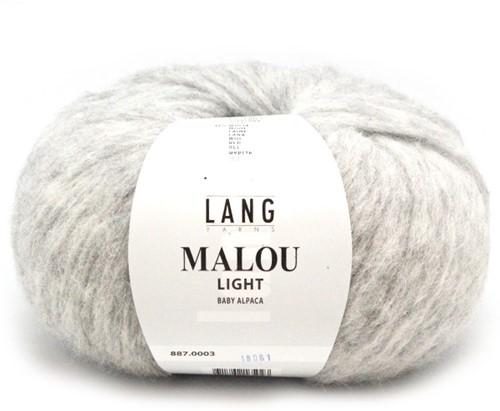 Lang Yarns Malou Light 3 Light Grey