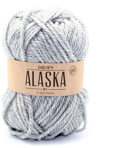 Drops Alaska Mix 03 Light Grey