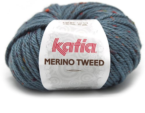 Katia Merino Tweed 405 Blue