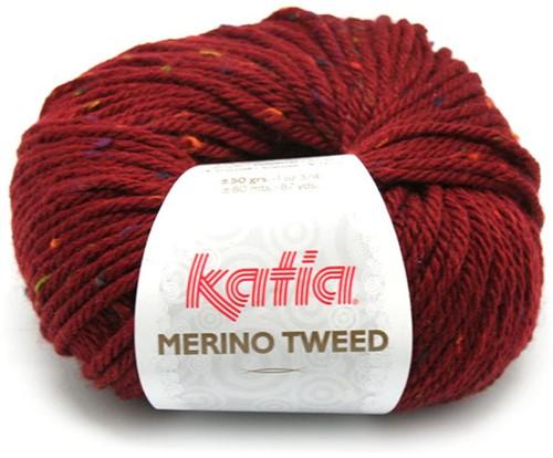 Katia Merino Tweed 407 Maroon
