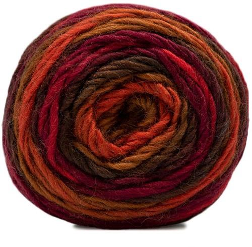 Katia Shiva 407 Red / Wine Red / Brown