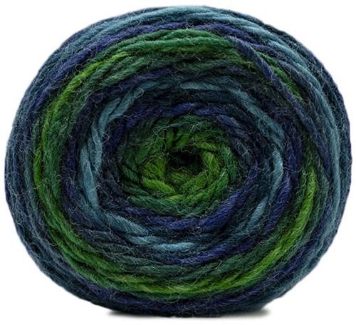 Katia Shiva 408 Green / Blue
