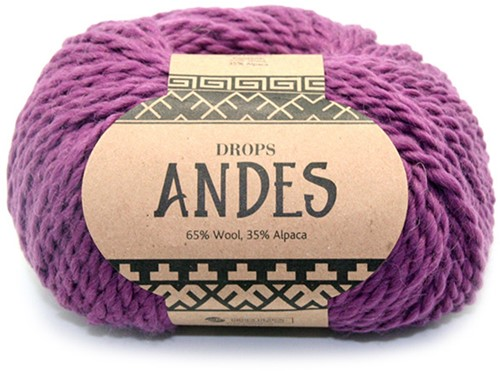 Drops Andes Uni Colour 4090 Heather