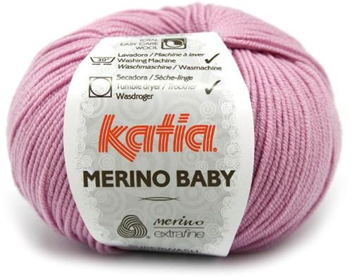 Katia Merino Baby 40 Lilac Rose