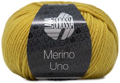 Lana Grossa Merino Uno 040 Mustard