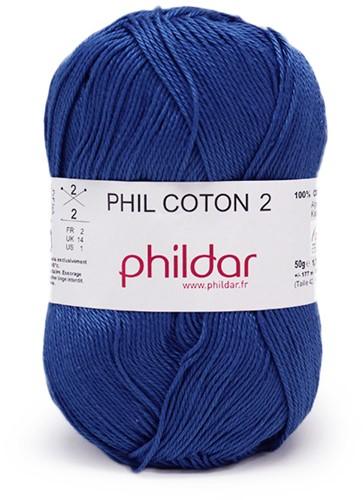 Phildar Phil Coton 2 1410 Outremer