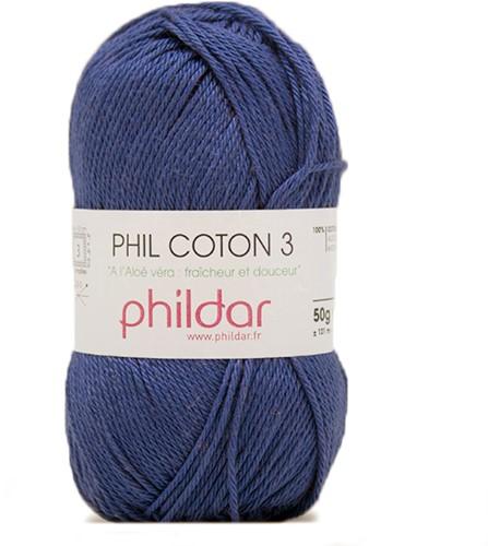 Phildar Phil Coton 3 1004 Outremer