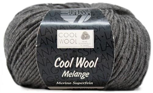 Lana Grossa Cool Wool 412 Dark Gray Mottled