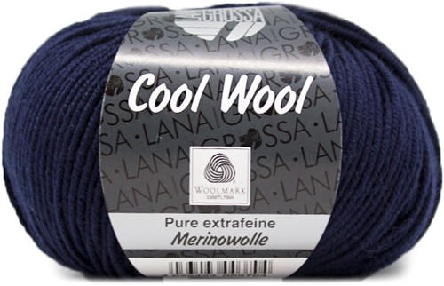 Lana Grossa Cool Wool 414 Night Blue