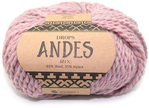 Drops Andes Mix 4276 Misty Rose