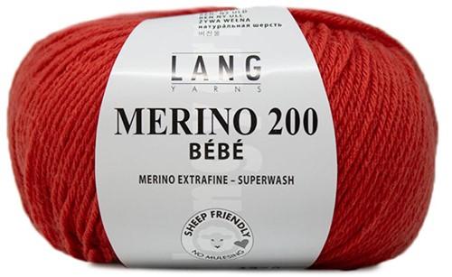 Lang Yarns Merino 200 Bebe 429 Melon