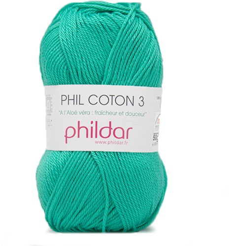Phildar Phil Coton 3 1117 Piscine