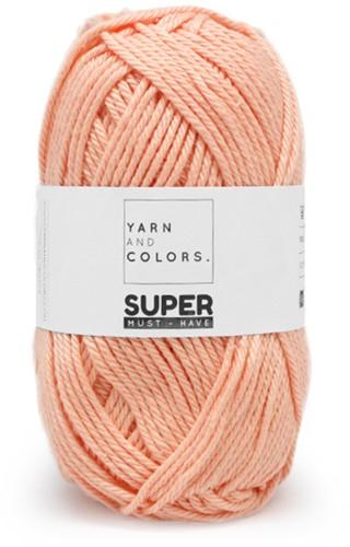 Yarn and Colors Leaf Cushion Crochet Kit 3 Peach
