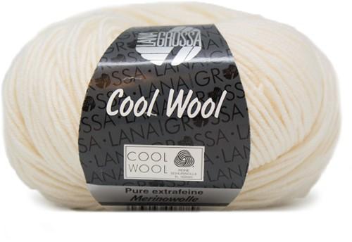 Lana Grossa Cool Wool 432 Ecru