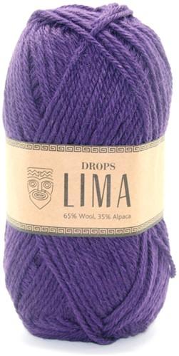 Drops Lima Uni Colour 4377 Dark Purple