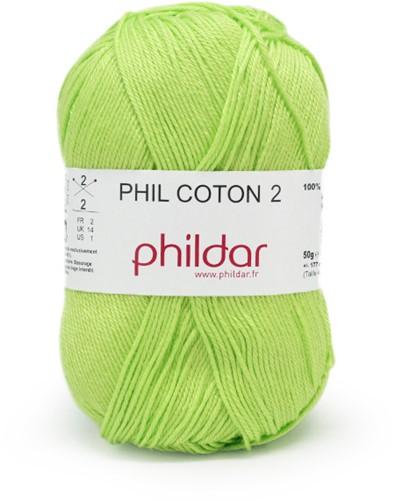 Phildar Phil Coton 2 1298 Pistache