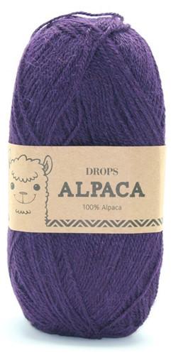 Drops Alpaca Uni Colour 4400 Dark Purple