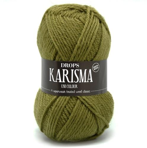 Drops Karisma Uni Colour 45 Light-olive