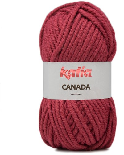 Katia Canada 45 Dark rose