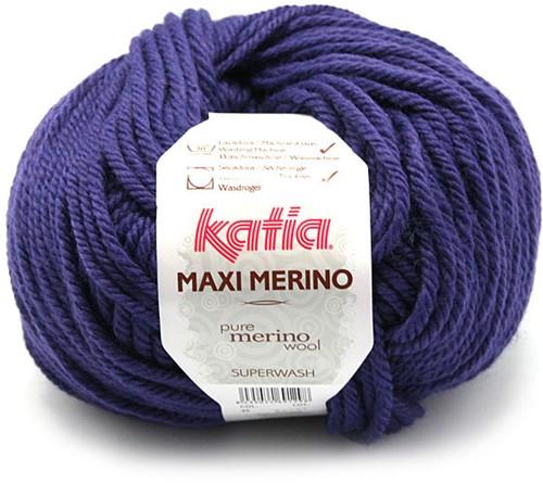 Katia Maxi Merino 45 Dark lilac