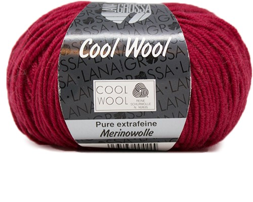 Lana Grossa Cool Wool 468 Wine Red