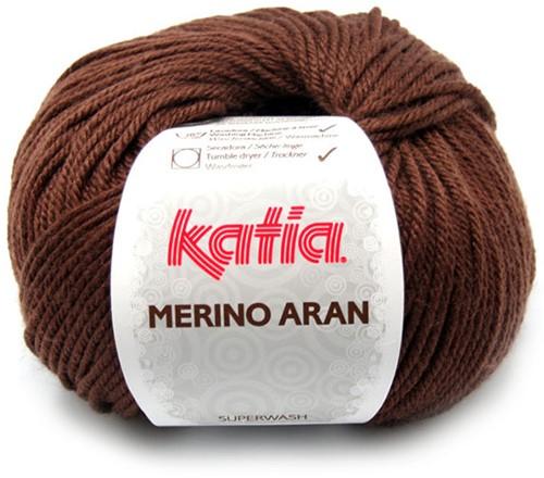 Katia Merino Aran 46 Dark brown