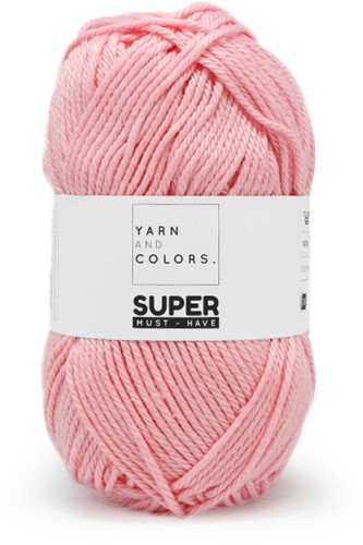 Yarn and Colors Bobbles Comfy Cushion Crochet Kit 046 Pastel Pink