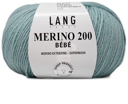 Lang Yarns Merino 200 Bebe 472 Dark Mint