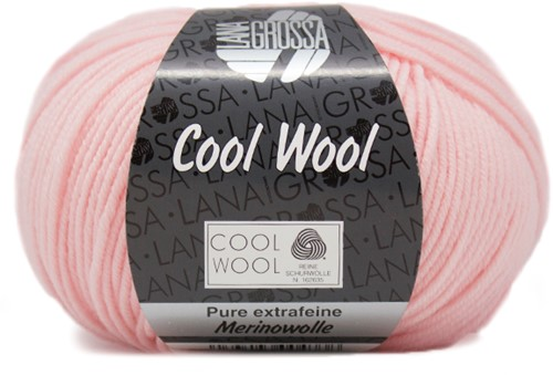 Lana Grossa Cool Wool 477 Subtle Rose