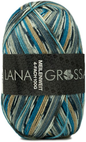 Lana Grossa Meilenweit 100 Fantasy 4887 Winter