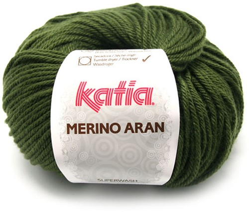 Katia Merino Aran 48 Medium green