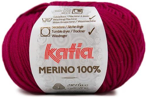 Katia Merino 100% 49 Dark fuchsia