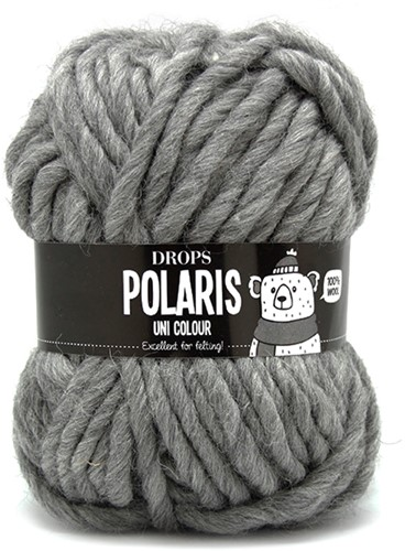 Drops Polaris Uni Colour 04 Medium-grey