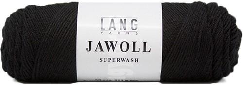 Lang Yarns Jawoll Superwash 4 Black