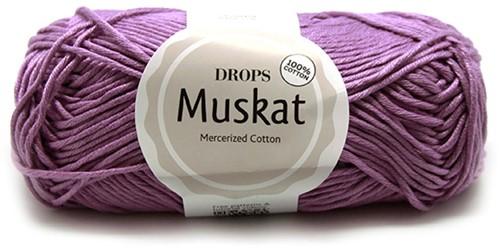Drops Muskat Uni Colour 04 Lilac