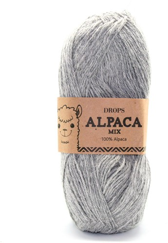 Drops Alpaca Mix 501 Light Grey