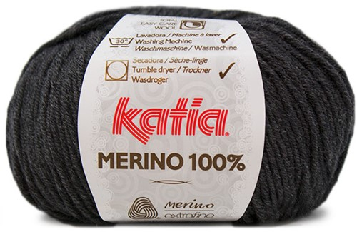 Katia Merino 100% 503 Dark grey