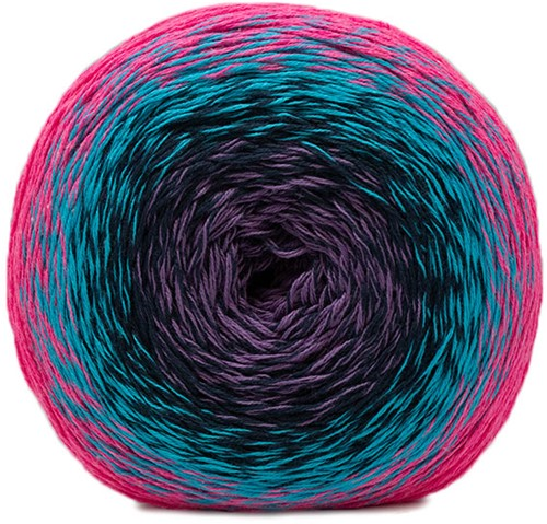 Katia Neon 505 Fuchsia-Lila-Blue