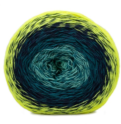 Katia Neon 506 Yellow-Pistachio-Green-Blue