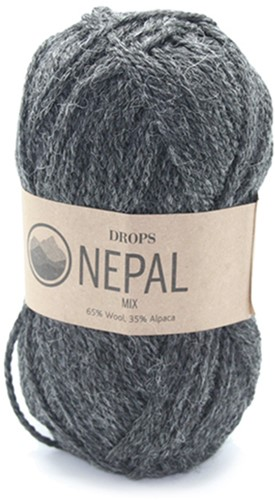 Drops Nepal Mix 506 Dark Grey