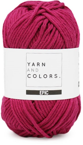 Yarn and Colors Epic 050 Purple Bordeaux