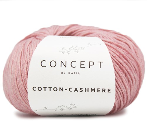Katia Cotton Cashmere 50 Rose
