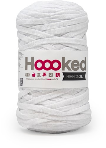 Hoooked RibbonXL 50 Optic White