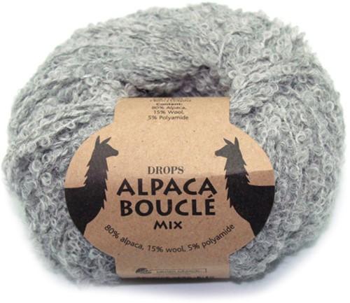 Drops Alpaca Bouclé Mix 5110 Light Grey