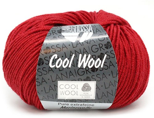 Lana Grossa Cool Wool 514 Dark Red