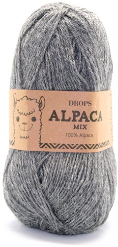 Drops Alpaca Mix 517 Medium Grey