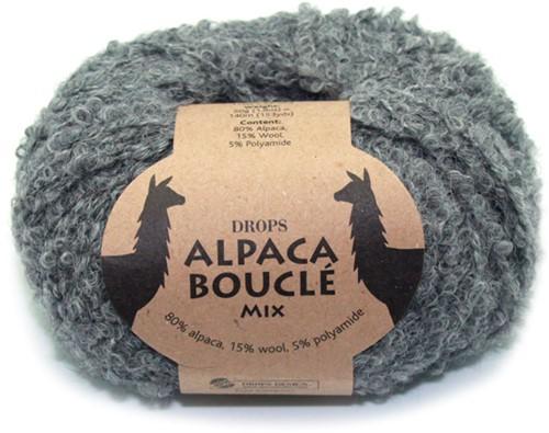 Drops Alpaca Bouclé Mix 517 Grey