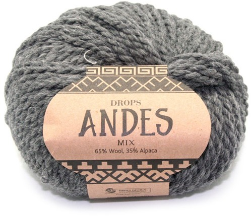 Drops Andes Mix 519 Dark Grey
