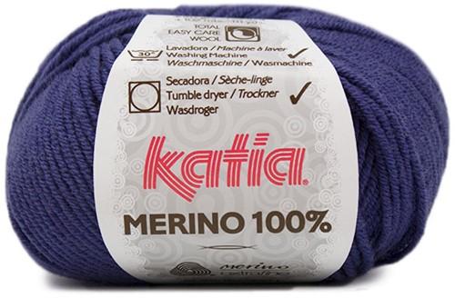 Katia Merino 100% 51 Medium blue