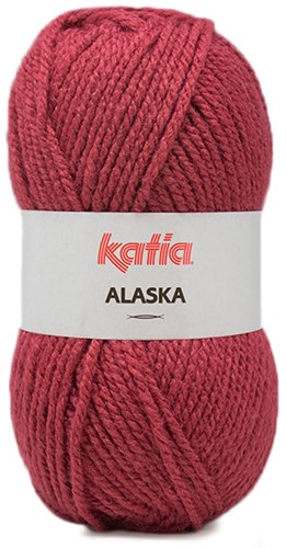 Katia Alaska 51 Raspberry red